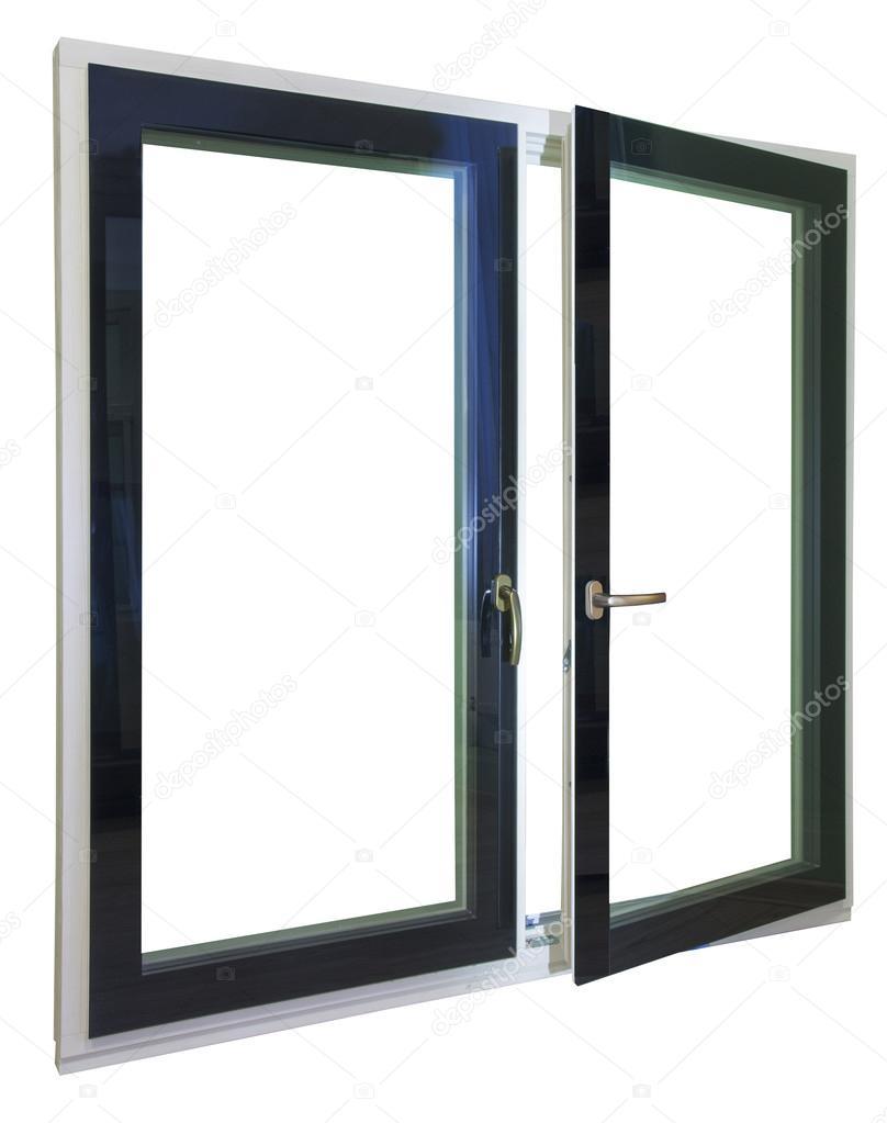 ventanas y marcos con vidrio y herrajes — Fotos de Stock © ilozavr63 ...