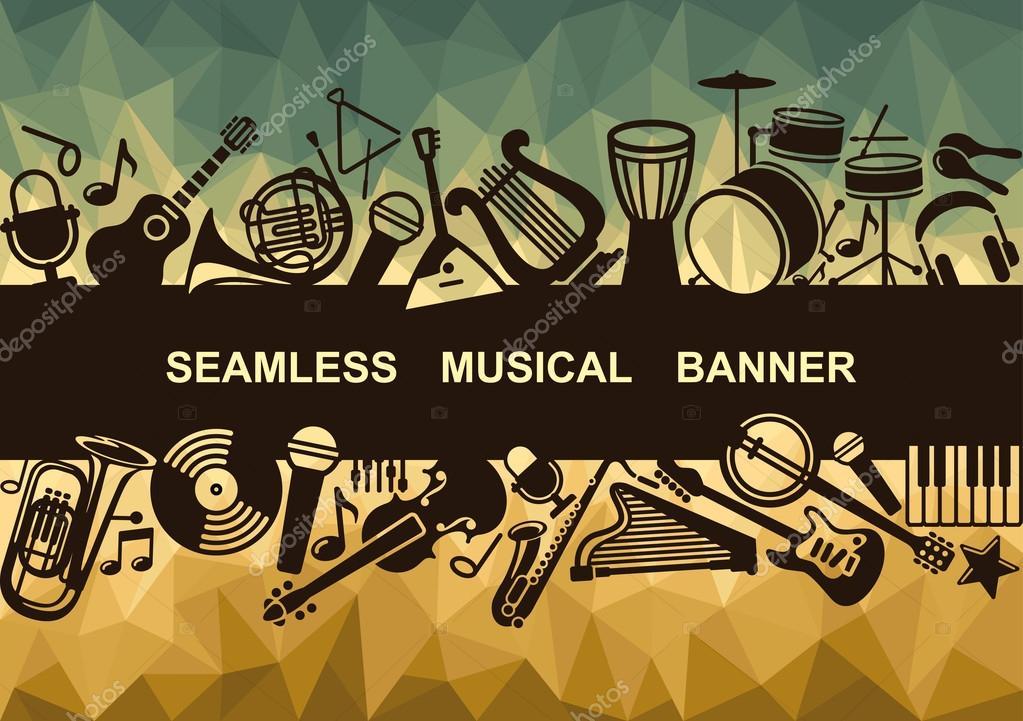 Seamless musical banner