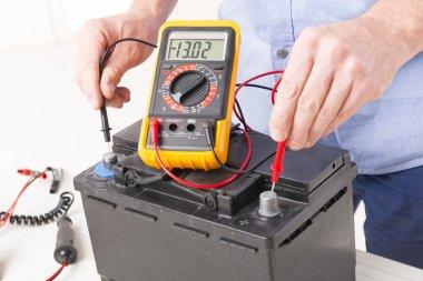 Checking car battery