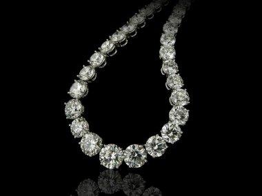 Diamonds Collier close up