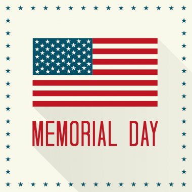 Memorial Day Vector Illustration