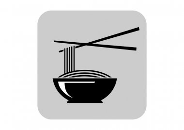 Noodles vector icon