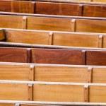 Cambridge, England, wooden boats (punts) Лицензионные Стоковые Изображения