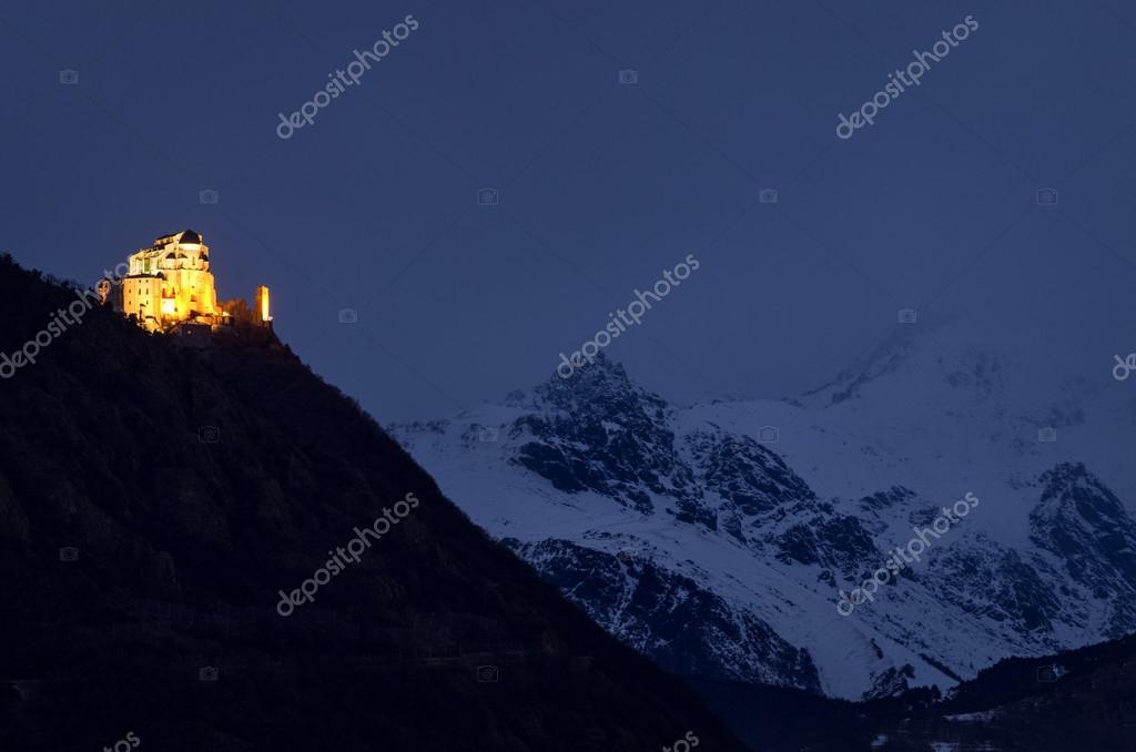 Turin (Torino) Sacra di San Michele — Stockfoto © Ladiras #95554068