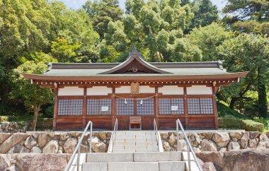 Ebisu Hall of Kibitsu Shinto Shrine in Okayama, Japan