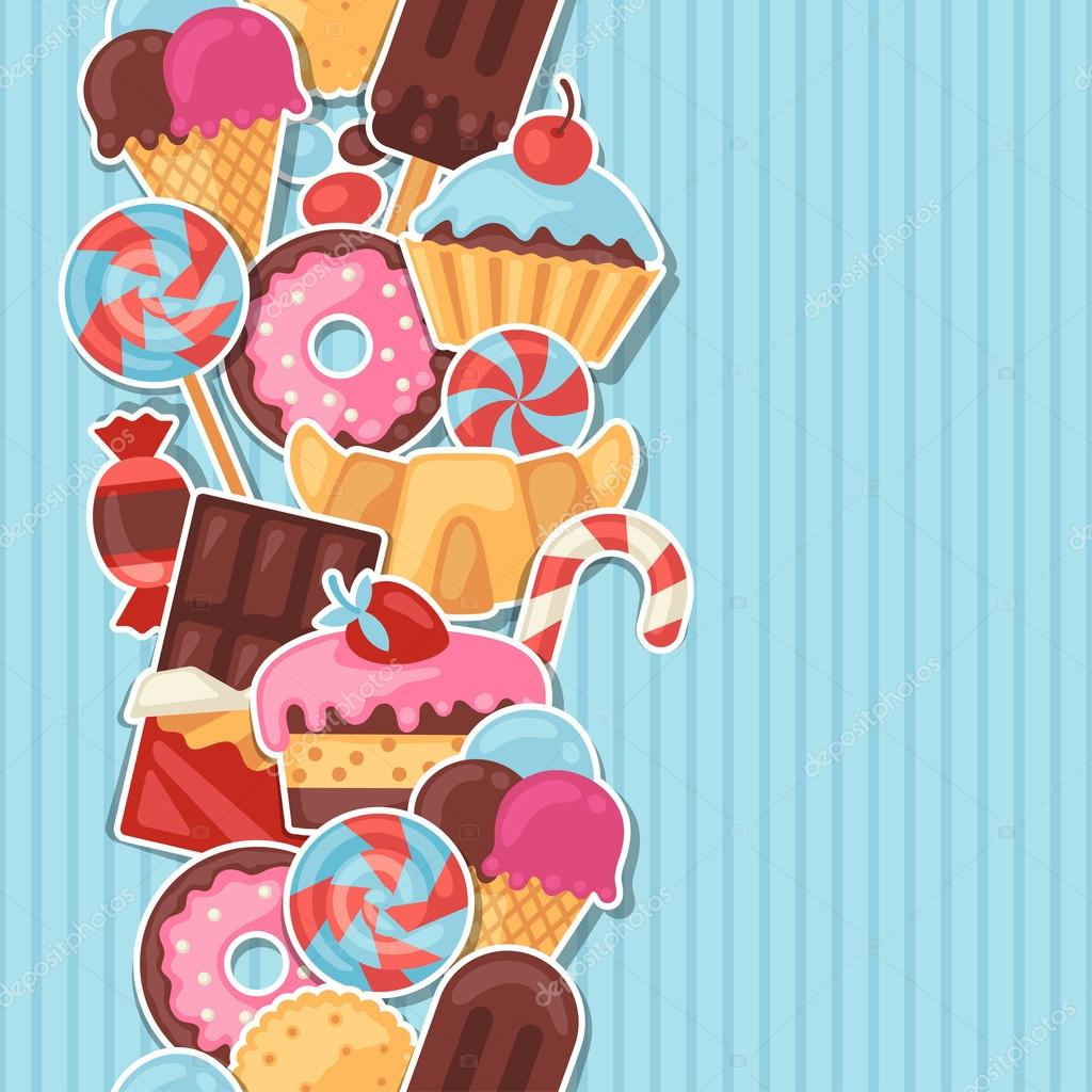 сладости для постера