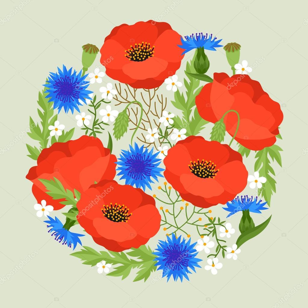 spring flower template - Romeo.landinez.co