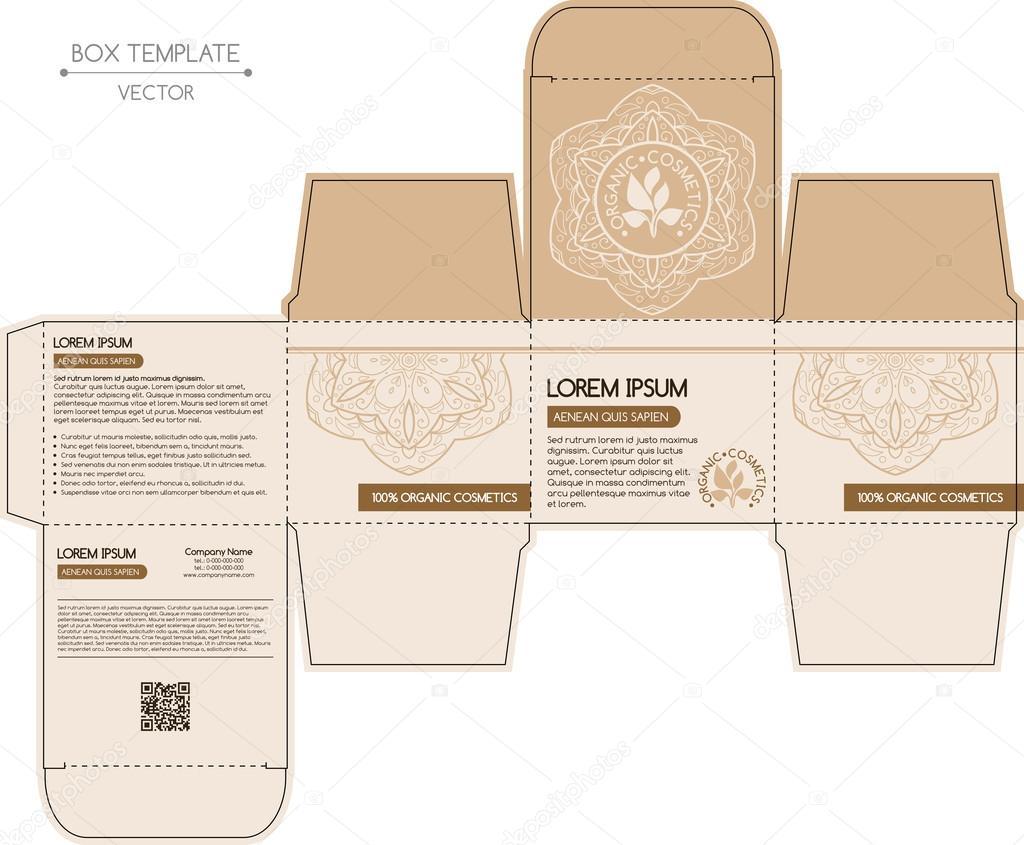 Box design, die-stamping
