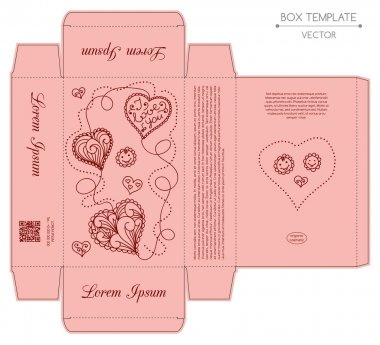 Box design, die-stamping