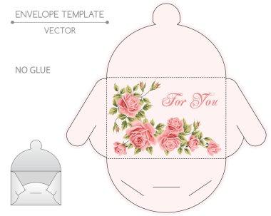 Envelope design die-stamping