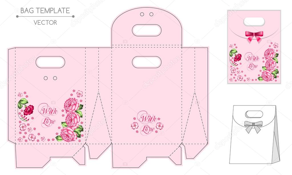 Bag design, die-stamping