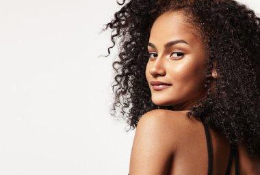 Pretty latin woman