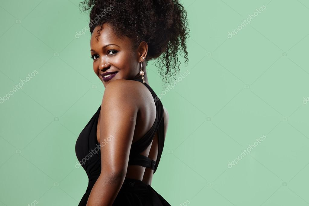 Black Woman With Curly Hair Stock Photo C Kazzakova 88512940