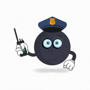 The Boom mascot character becomes a policeman. icon