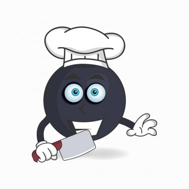 The Boom mascot character becomes a chef. icon