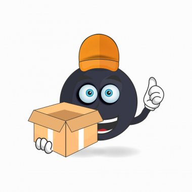 The Boom mascot character is a delivery person. icon