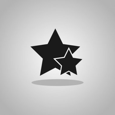 Black stars icon