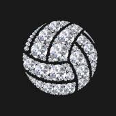 Diamond volley ball
