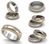 Sada nejlepší snubní prsteny