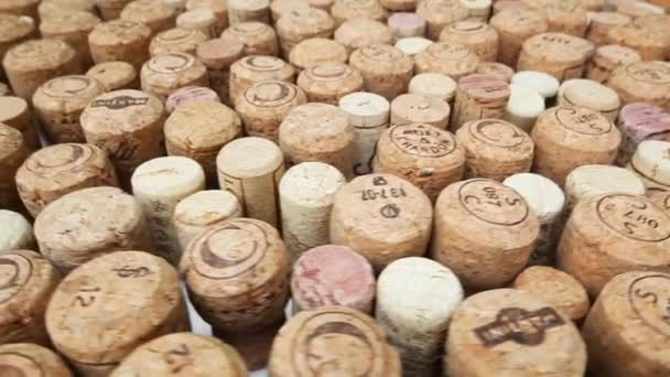 Collection of wine and champagne corks