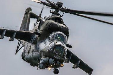 Mi-24 Demo Team in Pardubice
