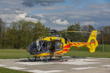 Emergency helicopter EC-135