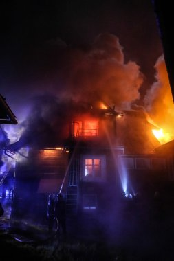 House in fire