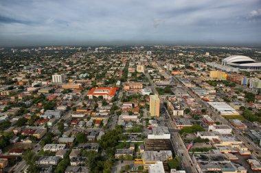 Miami downtown aerial