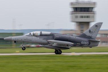 L-159 Alca is taking off
