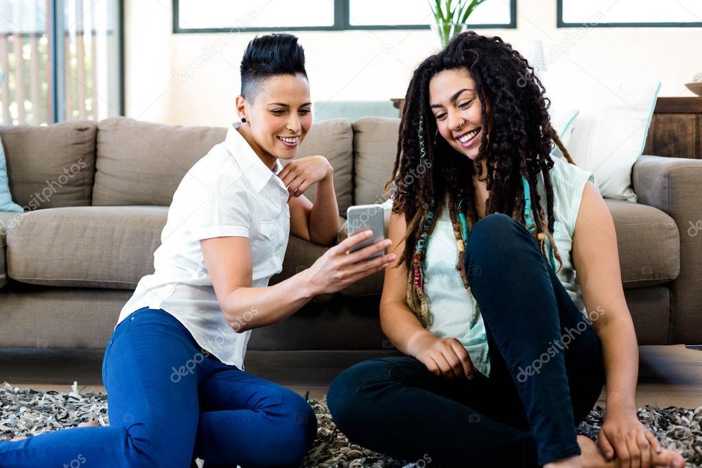 lesbische mobiele xxx Fat zwarte seks