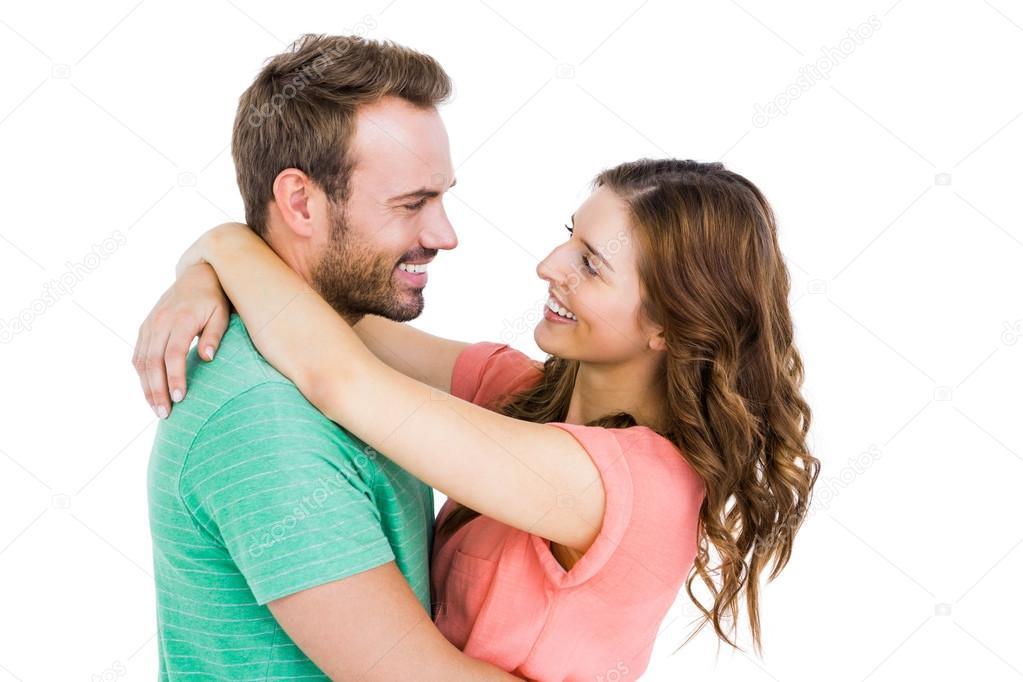 Paar kuschelt sich — Stockfoto © Wavebreakmedia #102608926