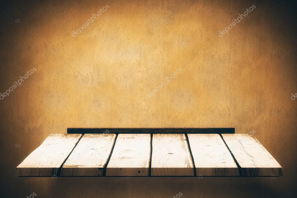 Houten Planken Tegen De Muur.Houten Plank Tegen Textuur Muur Stockfoto C Wavebreakmedia