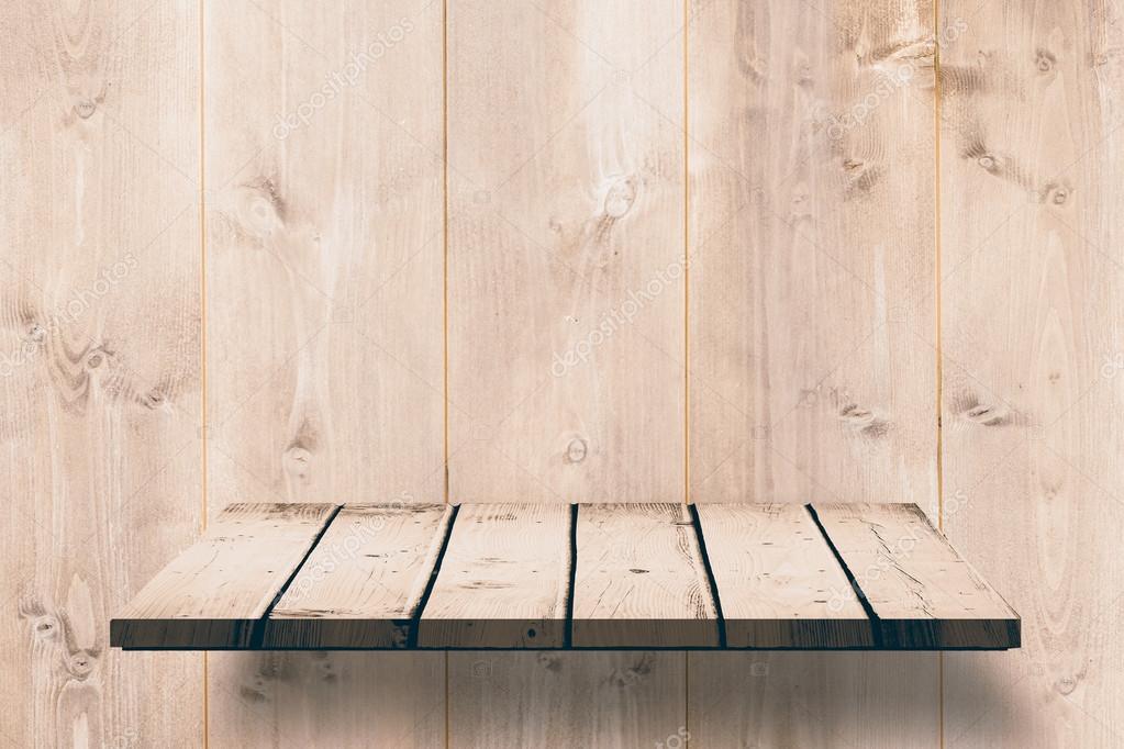 Houten Planken Tegen De Muur.Houten Plank Tegen Houten Muur Stockfoto C Wavebreakmedia 106424466