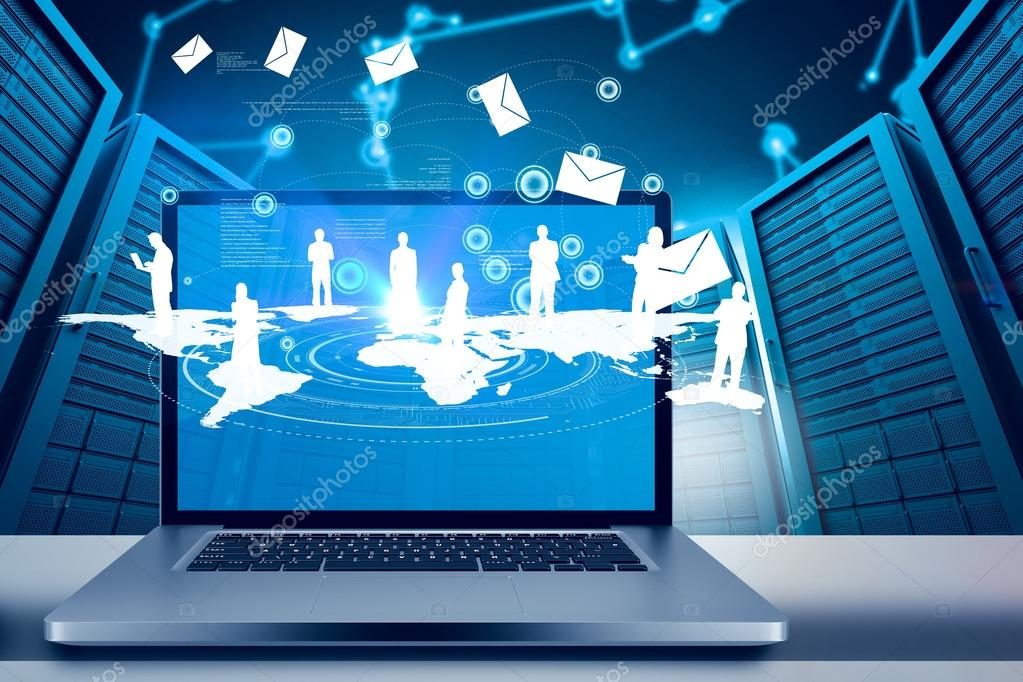 Large Computer Screen Stock Photo C Wavebreakmedia 106557356