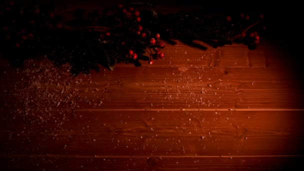 Roter Hintergrund mit kleinen Animationen — Stockvideo ...