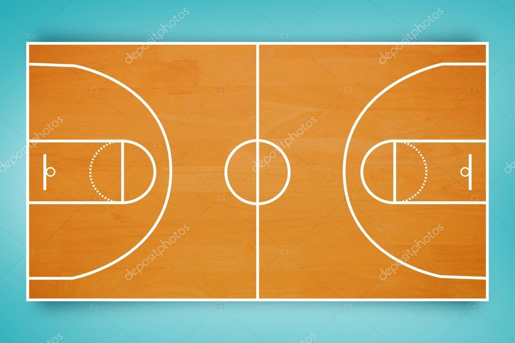 Plan de terrain de basket ball photo 113572562 - Terrain de basket maison ...