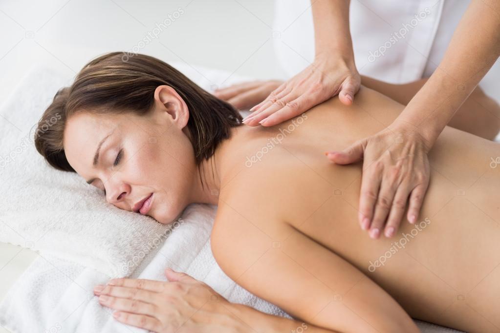 Frauen Nackt Massage