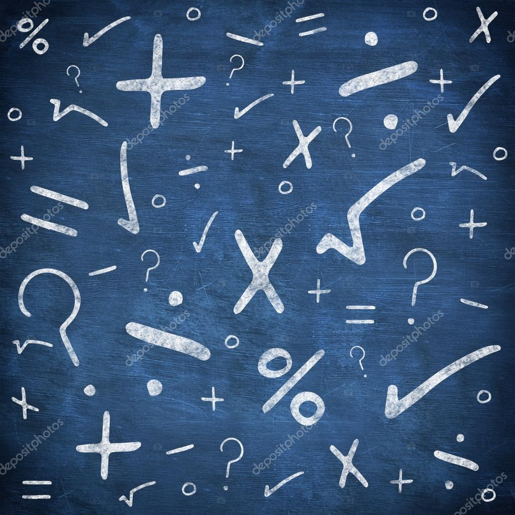Different maths signs and symbols stock photo wavebreakmedia composite image of different maths signs and symbols against chalkboard background photo by wavebreakmedia biocorpaavc