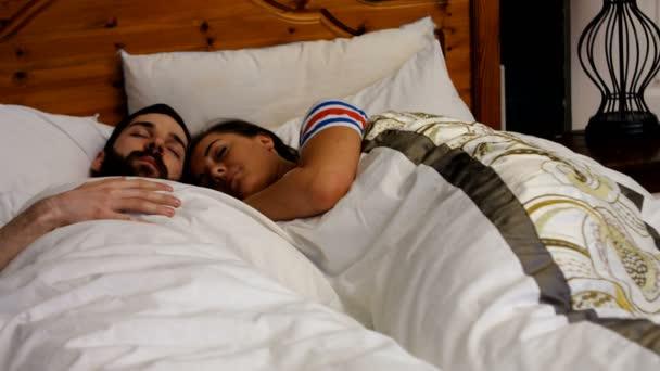 Transando na cama