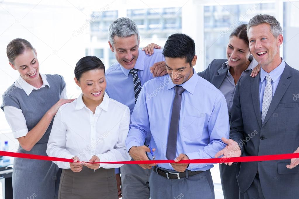 Business-Vertrag in der Firma — Stockfoto #81751326