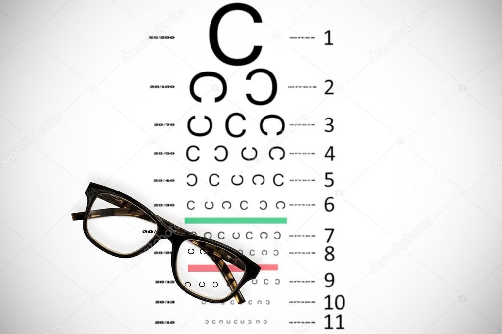 reading glasses eye test