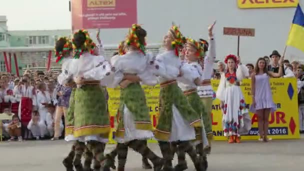 Ukrainian traditional dance at the International Folklore Festival