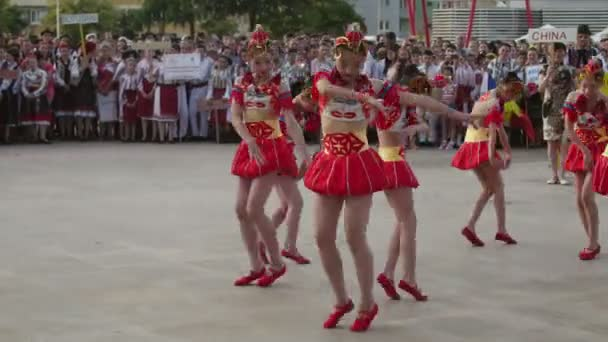 Chinese traditional dance at the International Folklore Festival