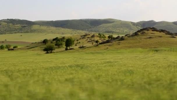 horská krajina v pohybu