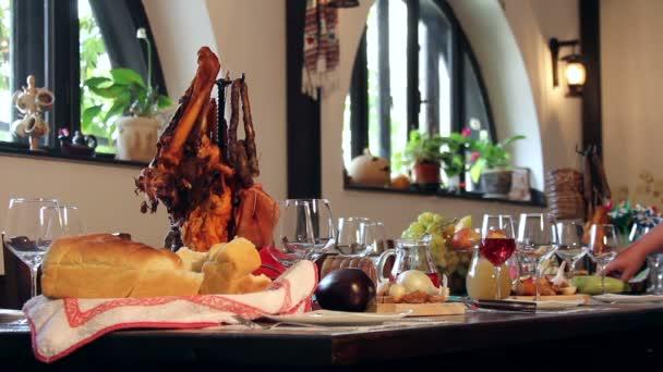 Traditional Balkan food