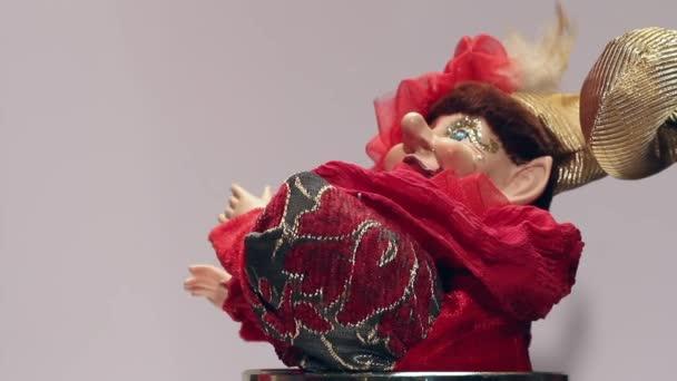 Hračka klaun music box