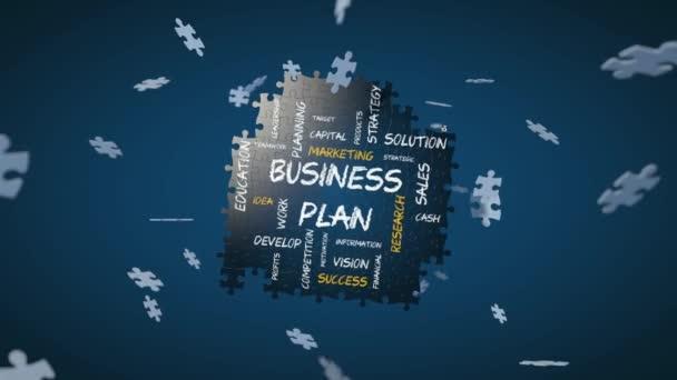 Skládačka animace pro podnikání