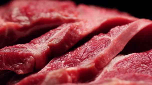 Frisches Rindfleisch aus nächster Nähe