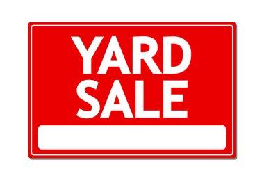 Yard Sale Vecotr Sign