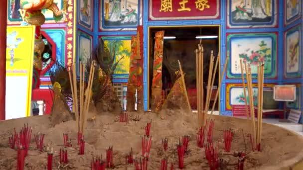 Čínský chrám na ostrově Koh Chang v Thajsku.